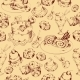 Sweets Sketch Background - GraphicRiver Item for Sale