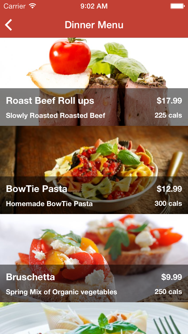 Ios restaurant full app template by larrrrryt codecanyon
