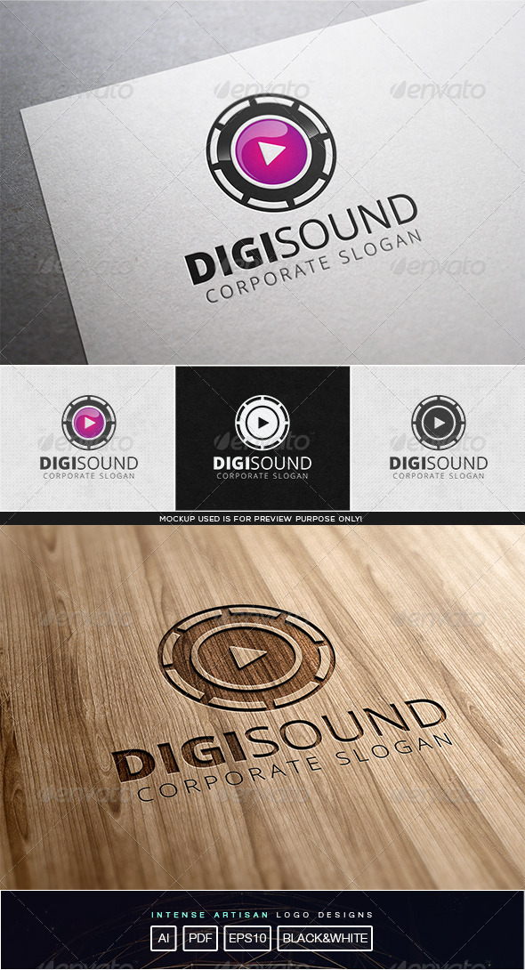 Digi Sound Logo Template