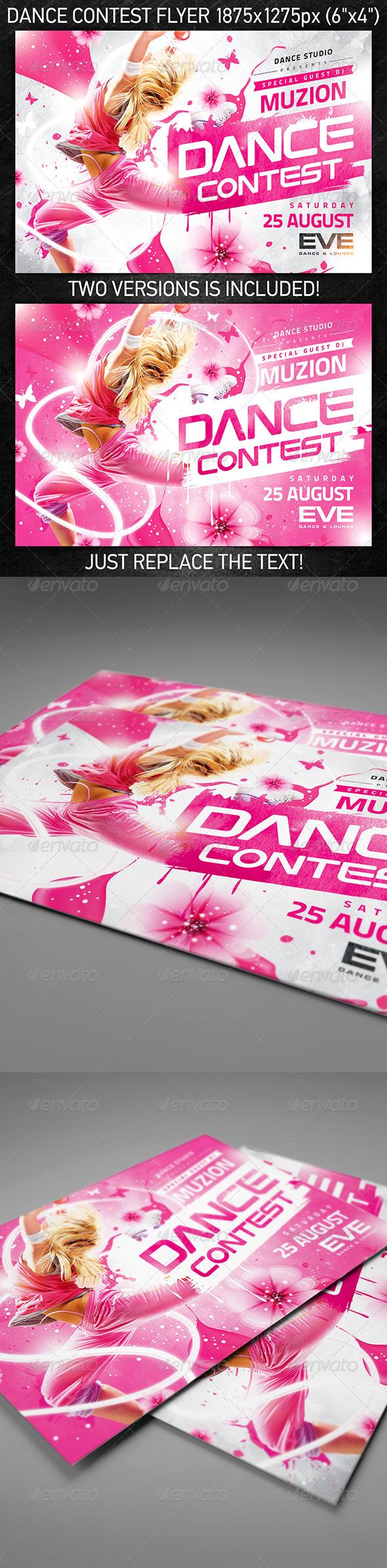 Dance Contest Flyer vol.2 - Clubs & Parties Events