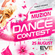 Dance Contest Flyer vol.2