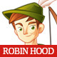 Robin Hood Mascot - GraphicRiver Item for Sale