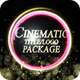Cinematic Particular Title/Logo Package - VideoHive Item for Sale