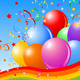 Party Balloons Background - GraphicRiver Item for Sale