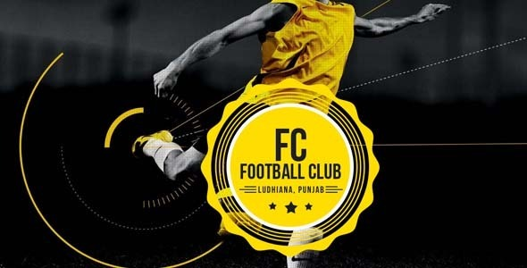 Football Club - Sports Muse Template - Creative Muse Templates