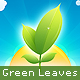 Green Leaves, Sunrise and Clouds - GraphicRiver Item for Sale