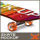Realistic Skate Board Mock-up - GraphicRiver Item for Sale