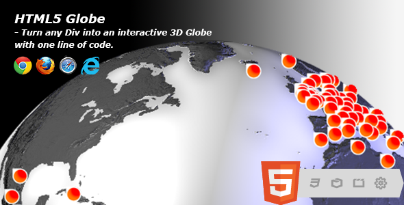 Download HTML5 Globe nulled version