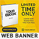 Ebook Web Banner Template - GraphicRiver Item for Sale