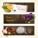 Herbs and Spices Horizontal Banners - GraphicRiver Item for Sale