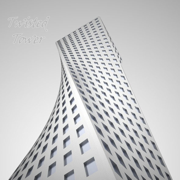 Twisted Tower - 3DOcean Item for Sale