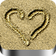 Sand Writing - GraphicRiver Item for Sale