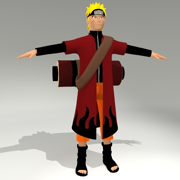 Naruto, Sage Mode - 3DOcean Item for Sale