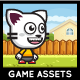 Game Asset - Running and Jumping Cat Sprite Sheets