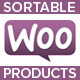WooCommerce Sortable Products
