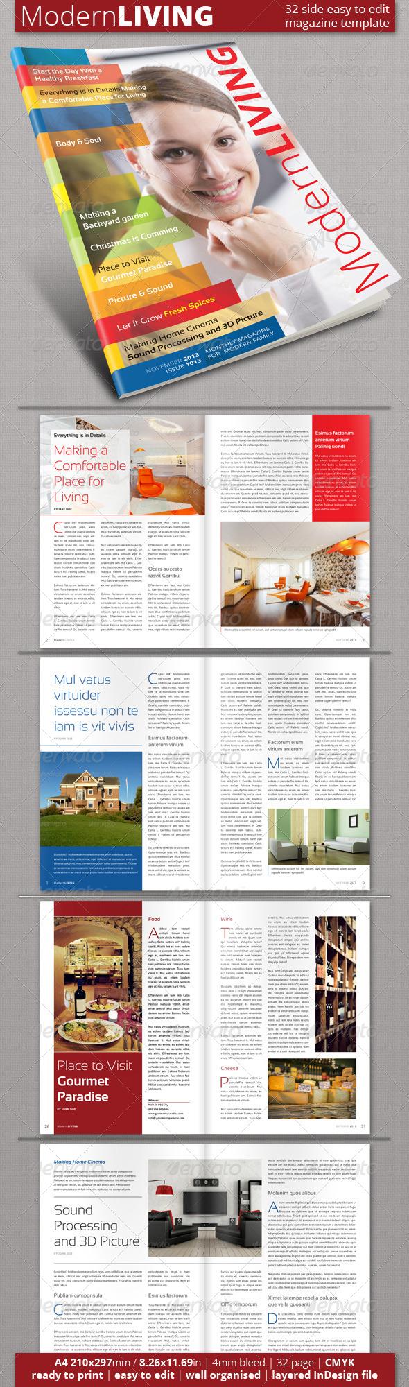 Multipurpose Magazine Template (Vol. 2) - Magazines Print Templates