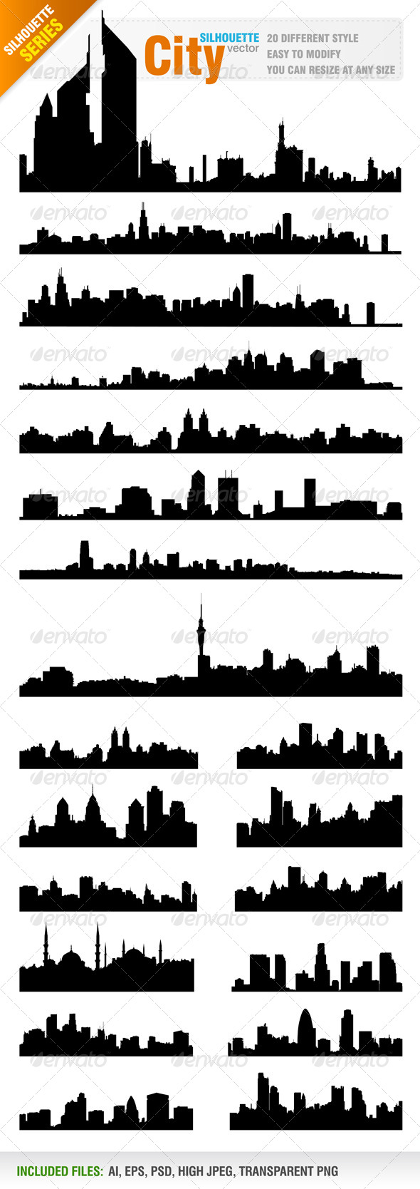 Skylines / Cityscapes Vector
