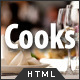 Cooks - Restaurant Responsive HTML Template Nulled