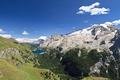 Fedaia lake and Mount Marmolada - PhotoDune Item for Sale