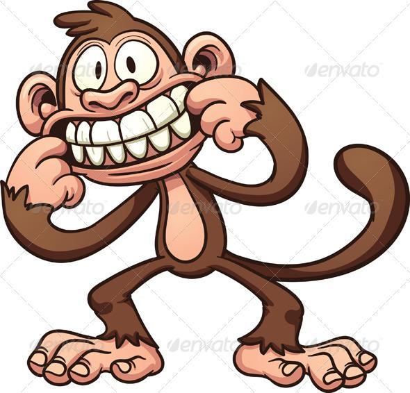 cartoon monkey by memoangeles graphicriver rh graphicriver net cartoon monkey pictures clip art cartoon monkey pictures to color
