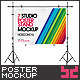 Poster Mock-ups - Horizontal - GraphicRiver Item for Sale