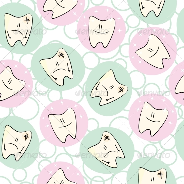 Seamless Baby Teeth Care - Health/Medicine Conceptual