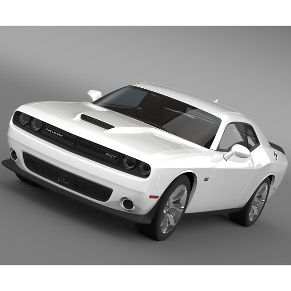 Dodge Challenger SRT LC 2015 - 3DOcean Item for Sale