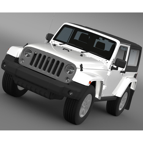Jeep Wrangler Freedom 2014 - 3DOcean Item for Sale