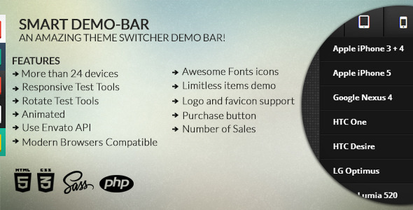 Smart Demo-bar - CodeCanyon Item for Sale