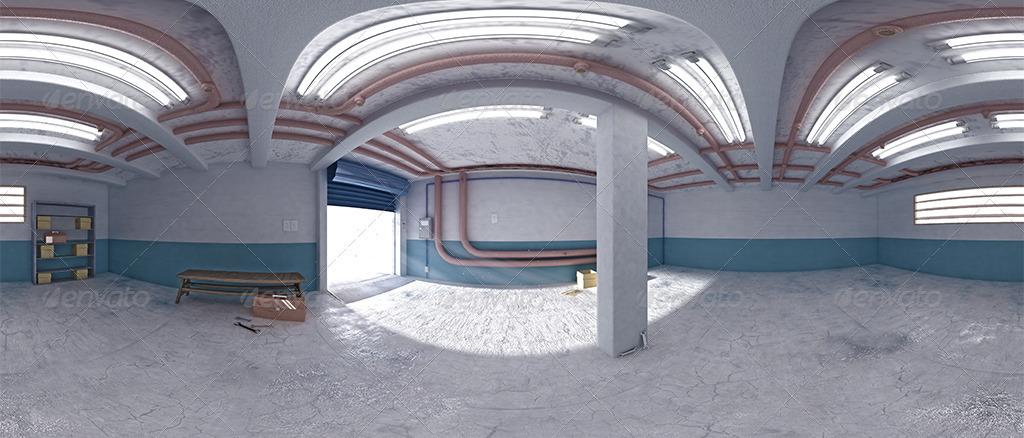 Garage Interior Hdri By Abdelrahman El Masry 3docean