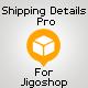 Shipping Details Pro Plugin for Jigoshop