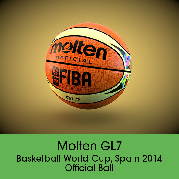Molten GL7 Official Ball - 3DOcean Item for Sale