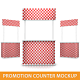 Promotion Counter Mockup - GraphicRiver Item for Sale
