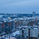 Time Lapse Sunset Winter City 4K and Full HD - VideoHive Item for Sale