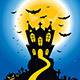 Halloween Creepy Hill - GraphicRiver Item for Sale