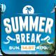 Summer Break Flyer Template - GraphicRiver Item for Sale