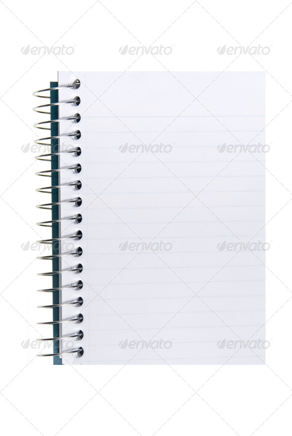 Spiral Notepad - Stock Photo - Images