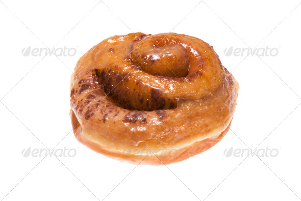 Cinnamon roll - Stock Photo - Images