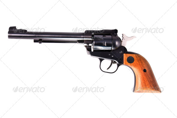 Old six shooter - Stock Photo - Images