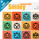 Smiley Faces Icon Set - GraphicRiver Item for Sale