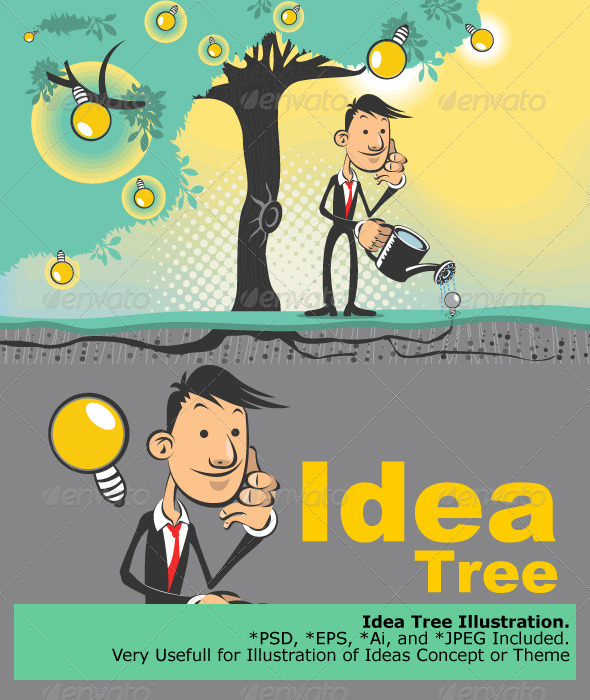 Ideas Tree - Concepts Business