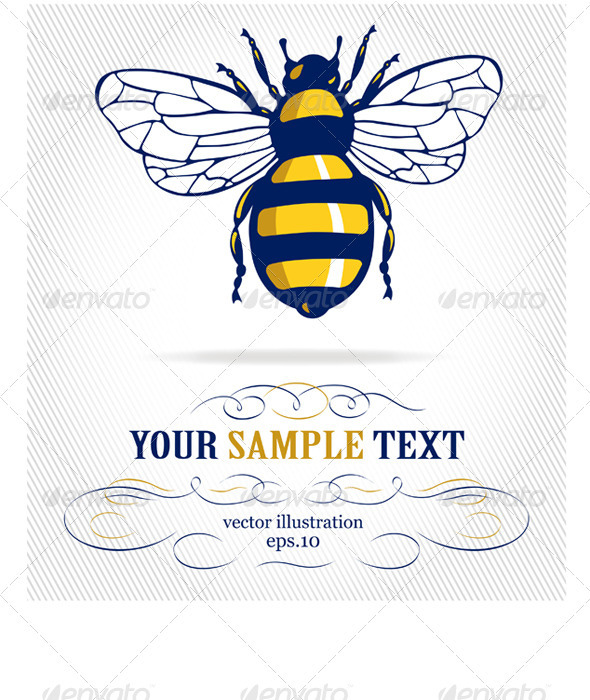 Honey Bee Insect - Animals Characters