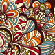 Vector Seamless Doodle Floral Pattern - GraphicRiver Item for Sale
