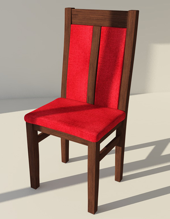 Chair Model CH-1 - 3DOcean Item for Sale