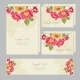 Set of Wedding Invitations and Announcements Card - GraphicRiver Item for Sale