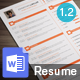 Clean Elegant Resume - GraphicRiver Item for Sale