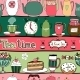 Tea Time Pattern - GraphicRiver Item for Sale