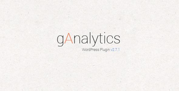 gAnalytics - Google Analytics WordPress Plugin - CodeCanyon Item for Sale