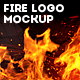 Fire Logo Mockup - GraphicRiver Item for Sale