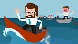 Businessman - Conceptual illustrations